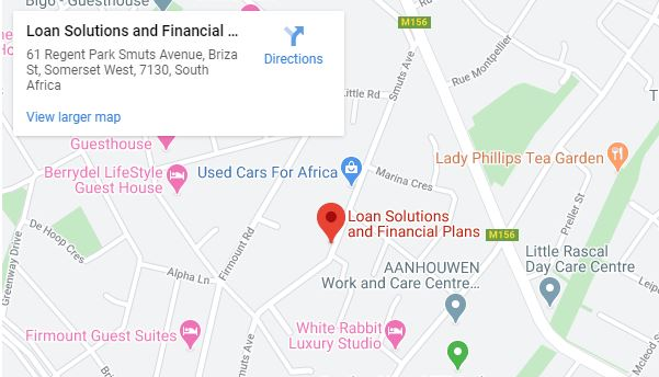 Loan Solutions Directions Map