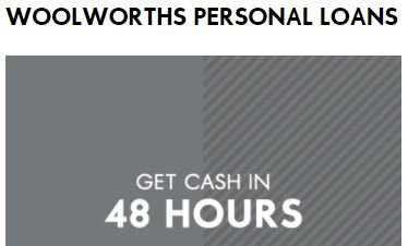 Woolworths Personal Loans